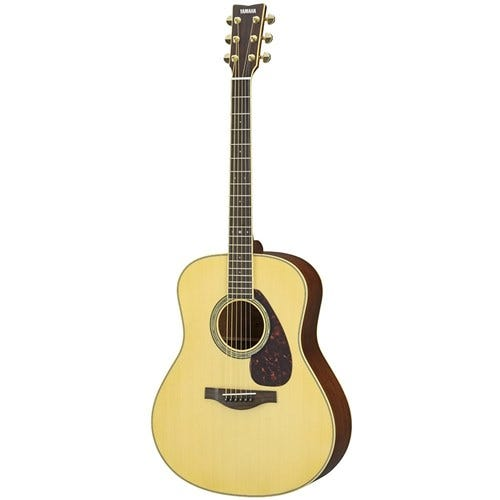 Yamaha LL6M Acoustic Electric Guitar w/Hard Bag - Natural
