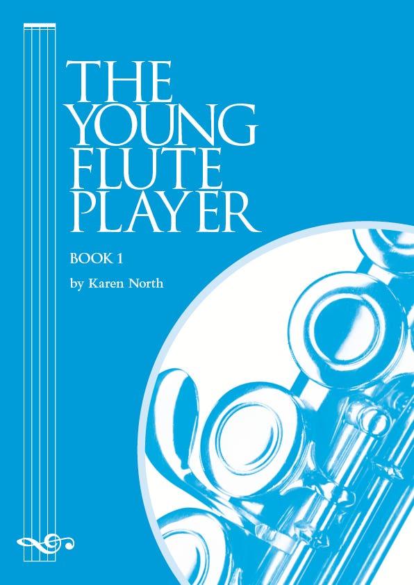 YOUNG FLUTE PLAYER BK 1 / KAREN NORTH