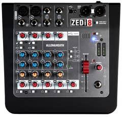 ALLEN AND HEATH ZEDi8 Compact USB MIXER (ZEDi-8)