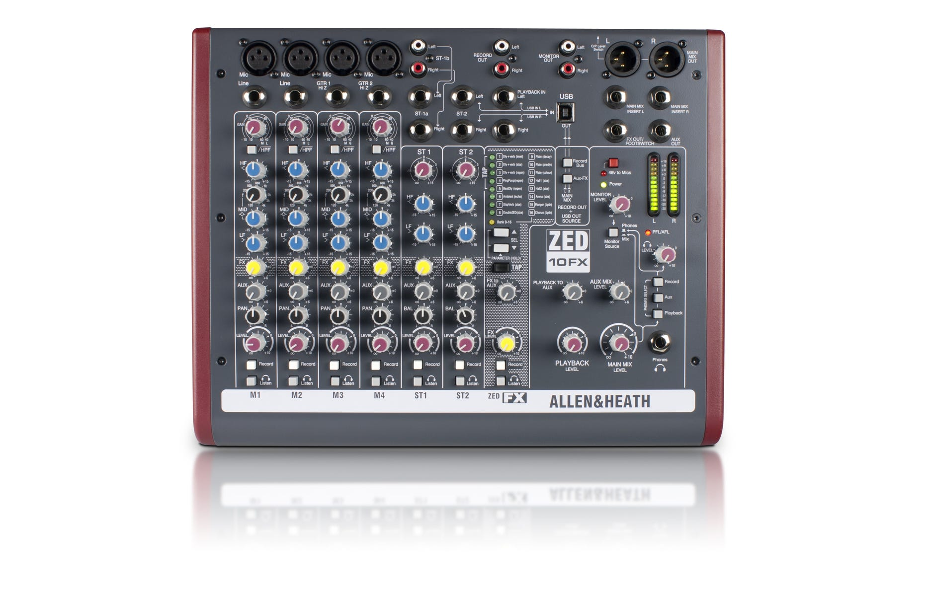 Allen and Heath ZED10FX Compact Mixer