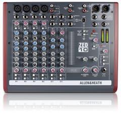 Allen and Heath ZED10 Compact Mixer