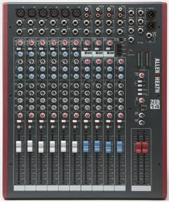 Allen and Heath ZED14 mixer