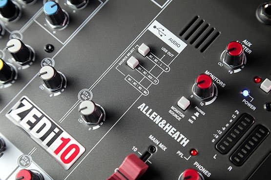 Allen and Heath ZEDi10 Compact USB Mixer (ZEDi-10)