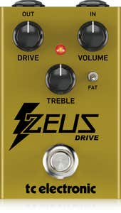 TC Electronic Zeus Drive Overdrive Pedal