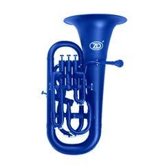 Zo Plastic Euphonium - Blue Blast