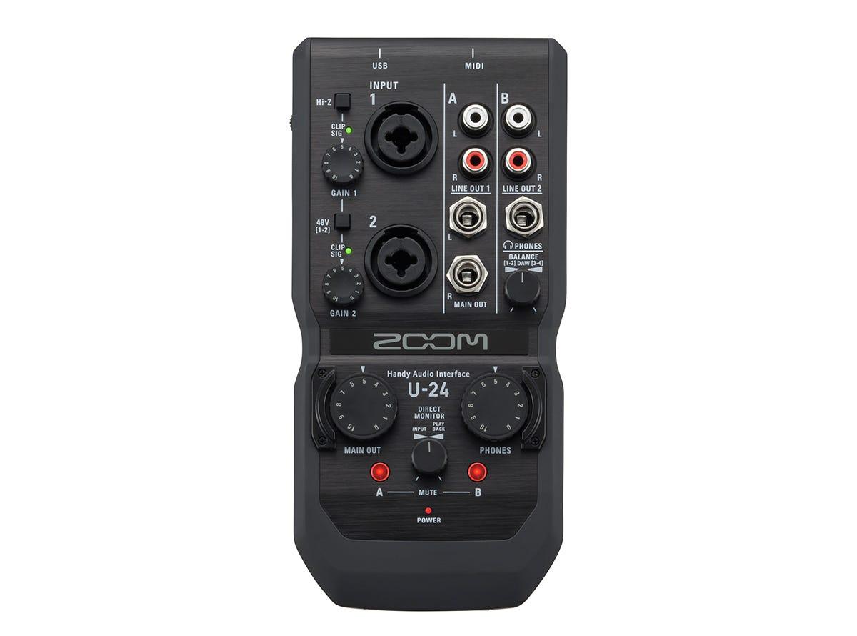 Zoom U-24 Handy Audio Interface w/Ableton Live 9 Lite