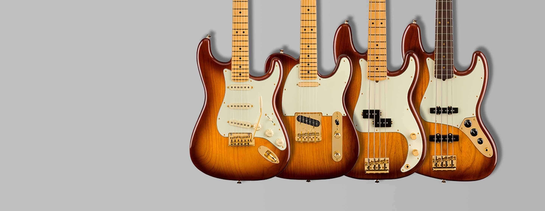 Fender High End Lineup 2021